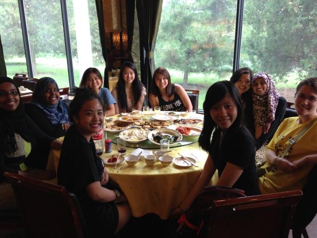 Last dinner!